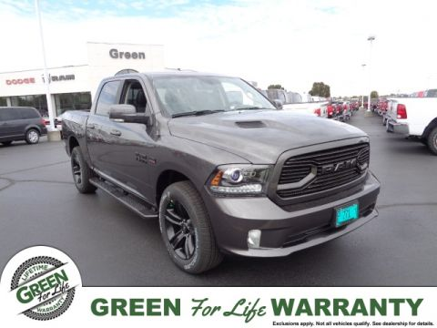 NEW 2018 RAM 1500 SPORT CREW CAB 4X4 5'7 BOX