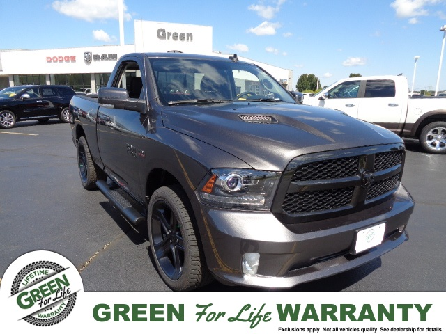 new 2017 ram 1500 sport regular cab in springfield 29424 green dodge. Black Bedroom Furniture Sets. Home Design Ideas