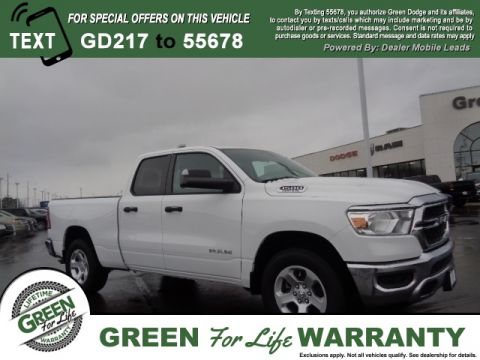 Ram 2120 Cab Springfield Quad Tradesman In Green New 1500 Dodge All-new 2019