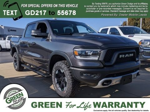 2019 Ram 1500 Interior Design Features Green Dodge