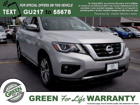 Pre-Owned 2017 Nissan Pathfinder
